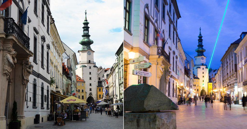 Bratislava Old Town - Michalska Gate