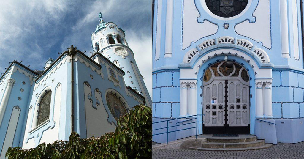 Bratislava must see - Blue Church
