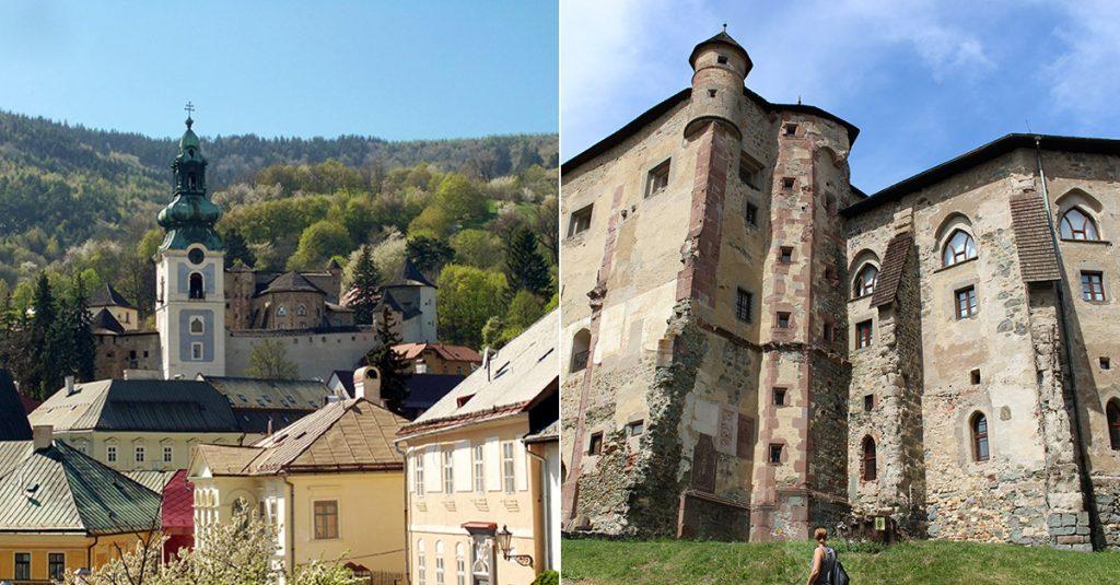 Castles in Slovakia - Banska Stiavnica