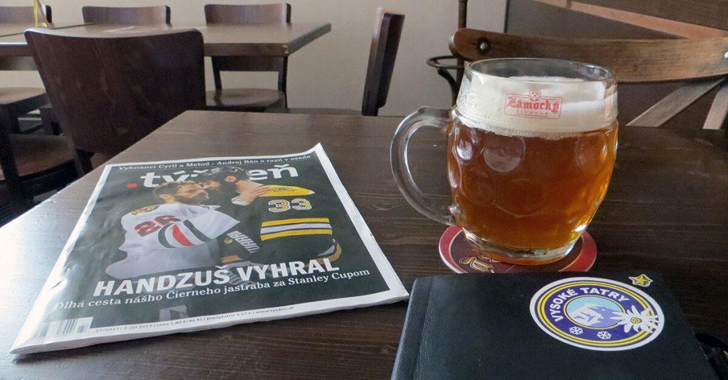 Slovak Beer - Zamocky Pivovar
