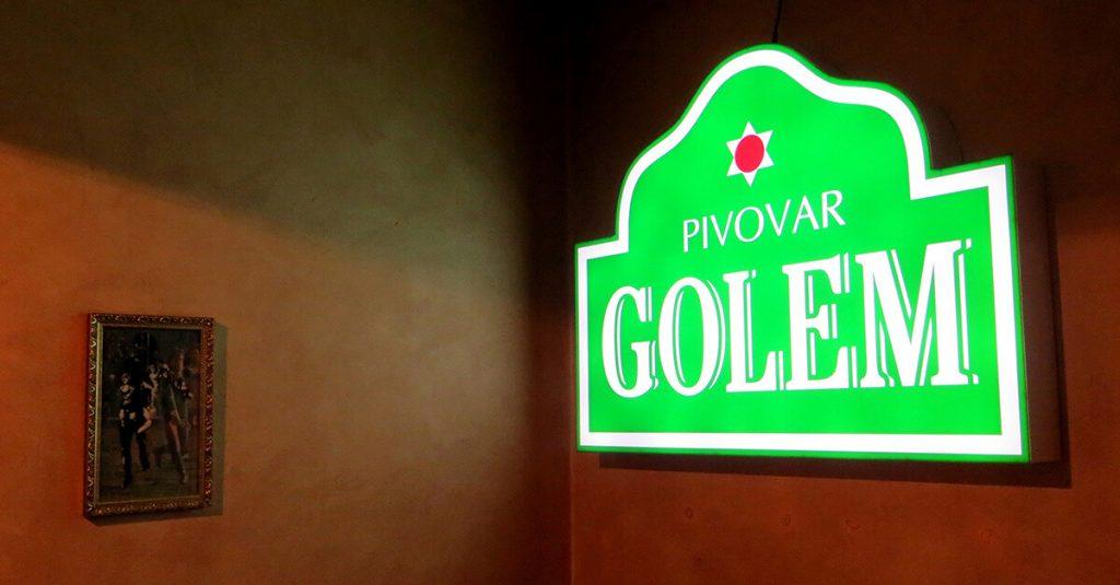 Slovakian Beer - Golem