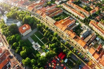 Spisska Nova Ves - Aerial View