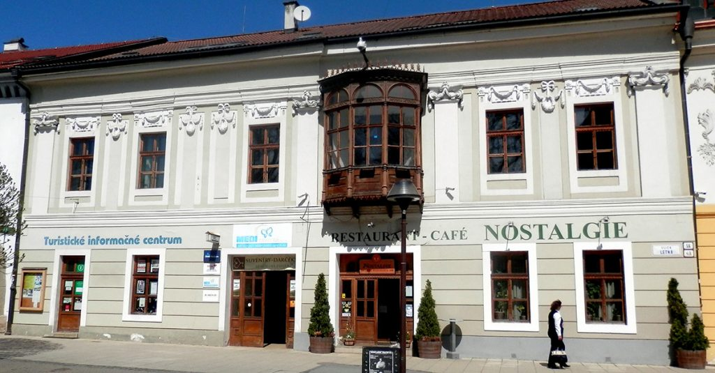 Spisska Nova Ves - Tourist Information Center and Nostalgie Restaurant