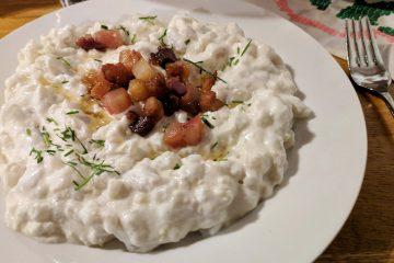 Slovak Cuisine - Bryndzove halusky