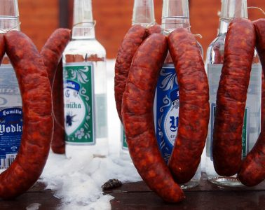 Traditional Slovak Cuisine - Sausages
