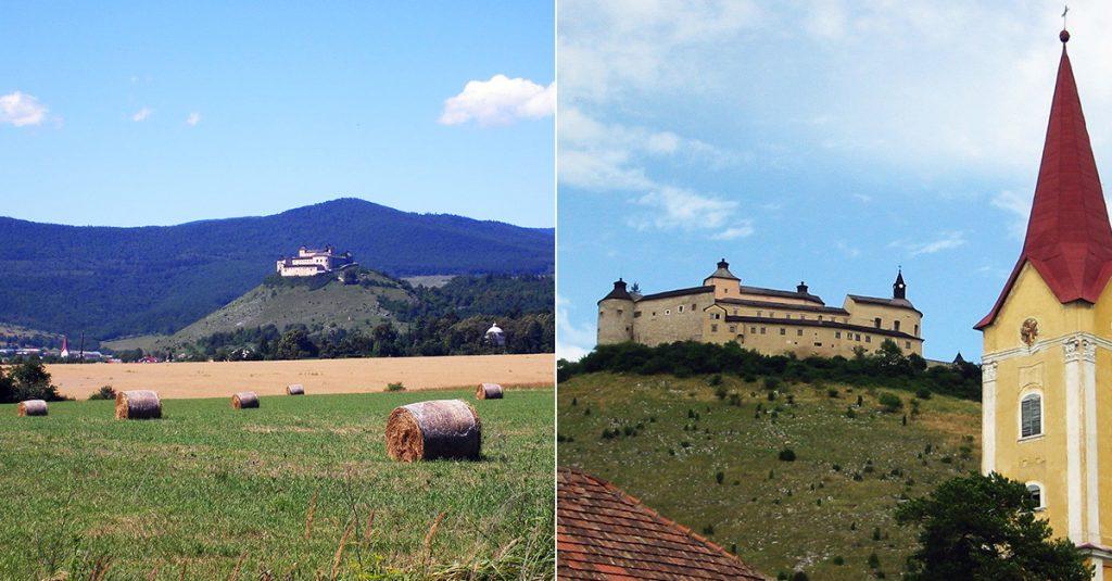 Castle in Slovakia - Krasna Horka
