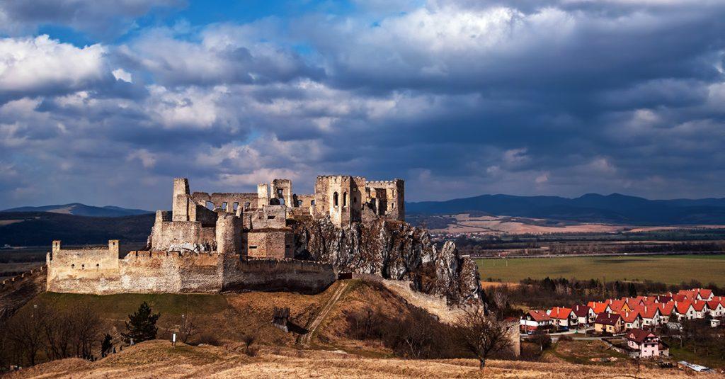 Slovak castle - Beckov