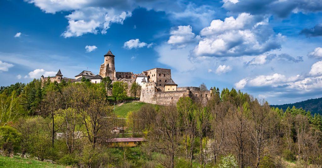 Slovakia castles Lubovna
